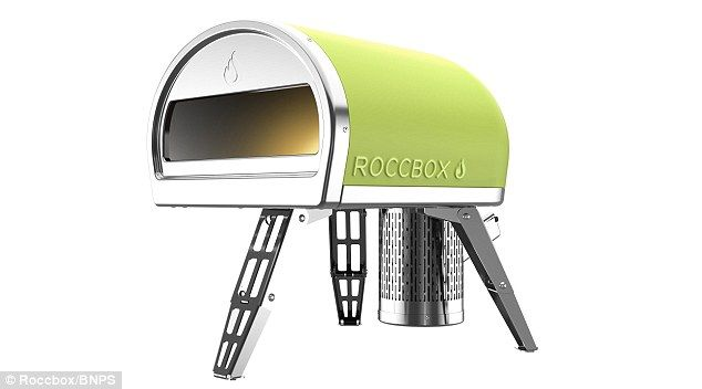 Roccbox (pictured) was designed by Hampshire-based Tom Gozney. The concept has a compact o...