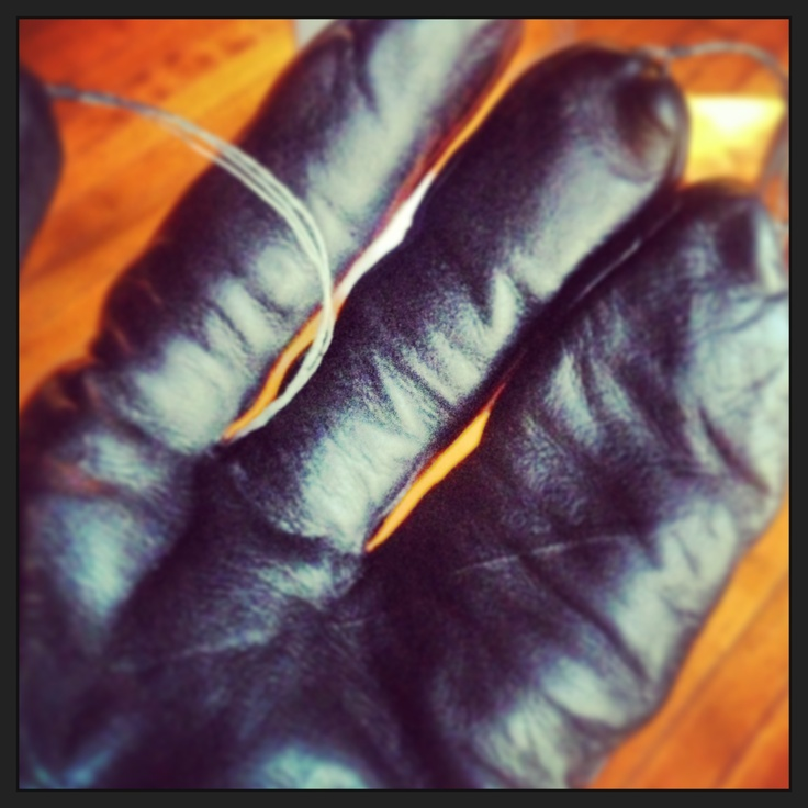 """Day 98: """"Hand in (claw) glove""""."""