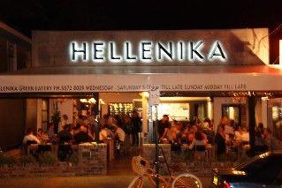 Hellenika. Great restaurant in Nobby beach