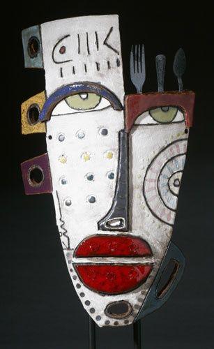 Kimmy Cantrell Une part d'inspiration africaine, du matériau simple, des adaptations faciles pour la classe, de la couleur, bref tout ce que j'aime ! Idéal pour un travail autour du masque ou des...