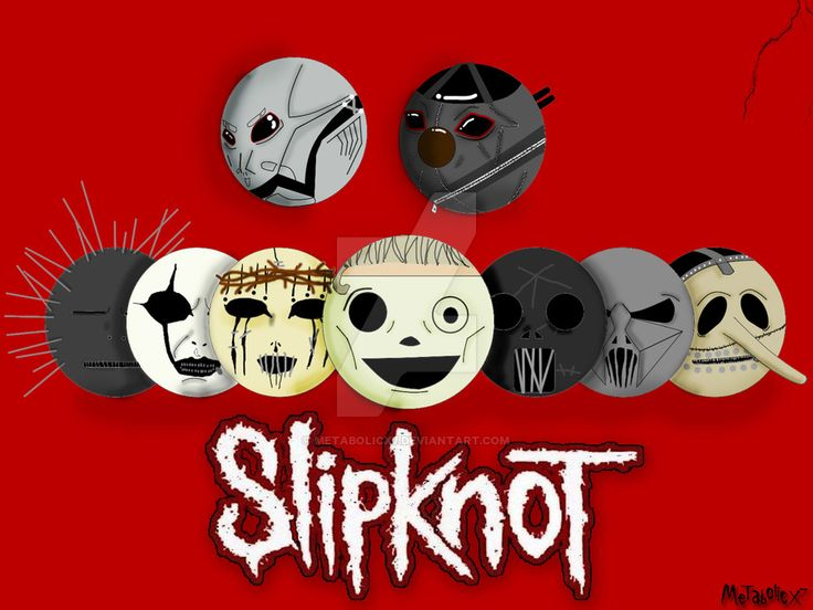 Slipknot by Metabolicx7.deviantart.com on @DeviantArt
