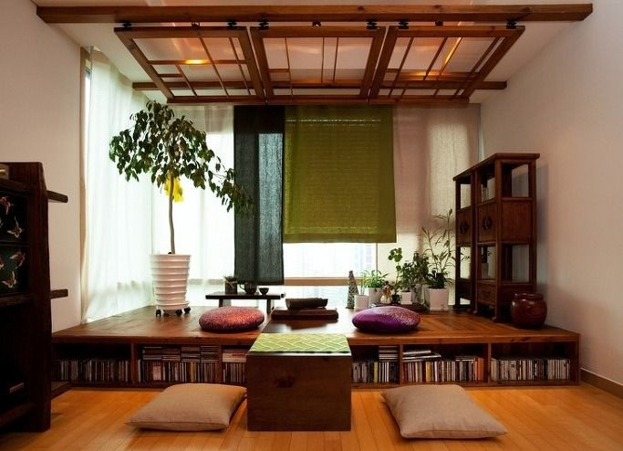 Luck of the phone :: Interiors - Modern Hanok Hanok, hanok apartment