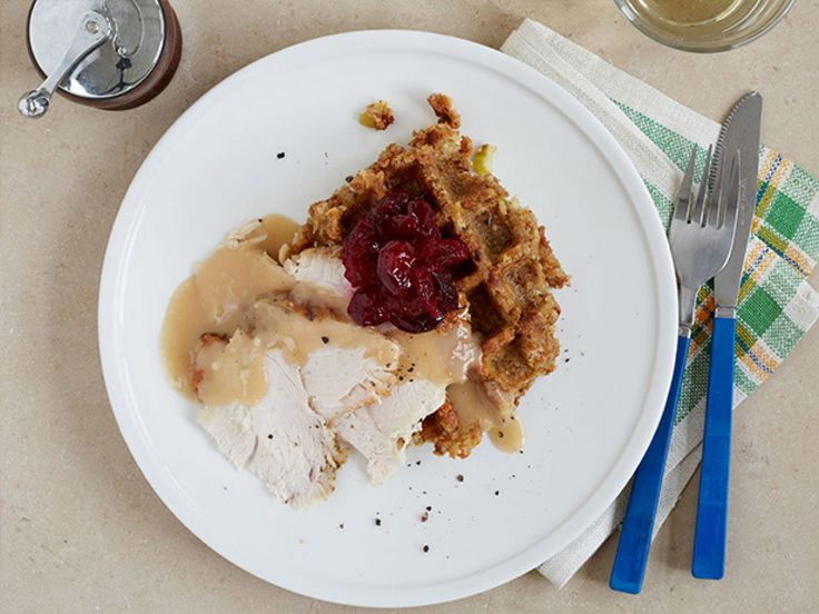 Get this all-star, easy-to-follow Waffled Leftover Thanksgiving Brunch recipe from Food Network Kitchen