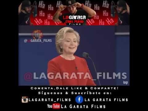Hilary Clinton y Donald Tromp Debate De La Garata