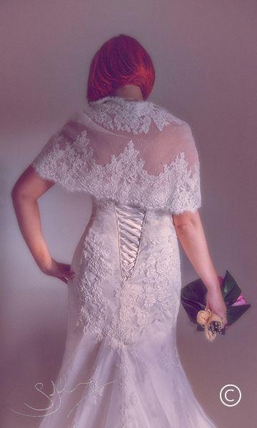Ami's beautiful dress.. Farbridge wedding by Simon John