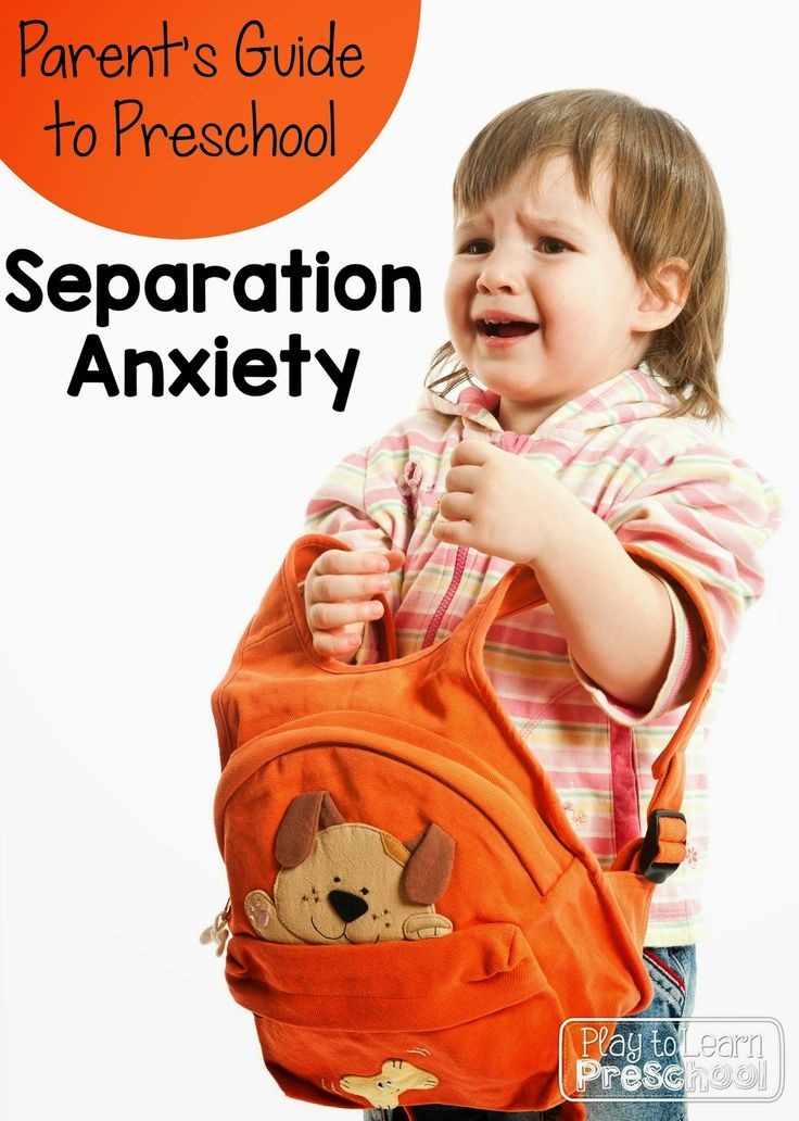 Separation Anxiety at Preschool - A Parent's Guide