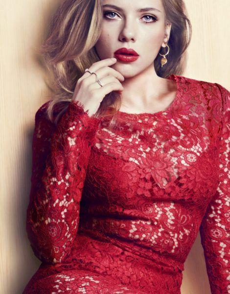 Scarlett Johansson Photoshoot 2017 Red Dress #iphone #iphonewallpaper #hdwallpapers