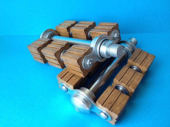 Wooden bicycle pedals pedali in legno por pasticcinlegno en Etsy