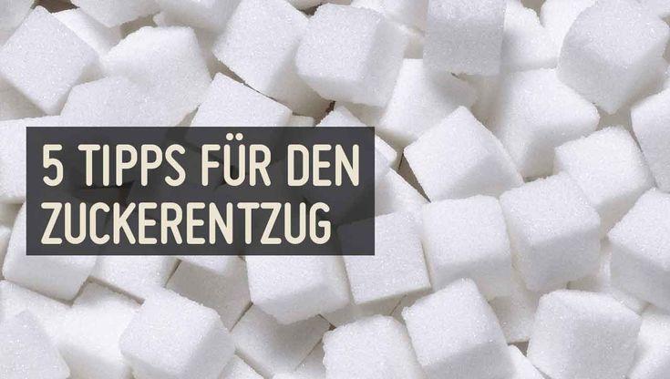 Industriezucker ist für den menschlichen Körper nicht notwendig und vor allem nicht gesund. ✚✚Dieser Artikel gibt 5 Tipps für einen leichteren Zuckerentzug✚✚