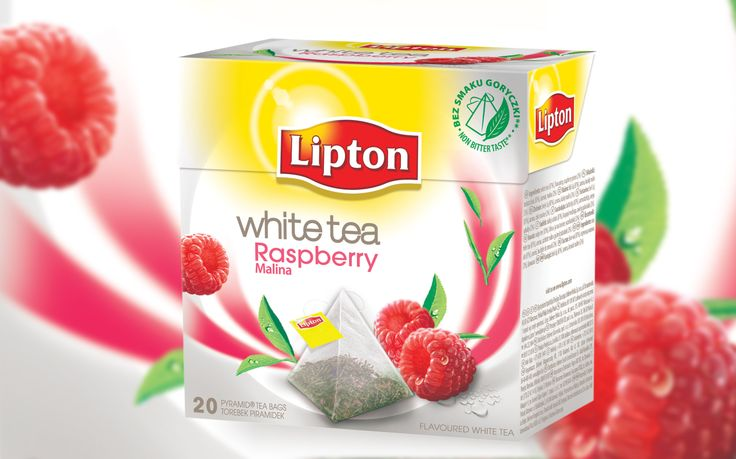 Lipton White Tea Malina