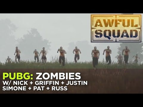 PUBG: Zombies with Nick, Griffin, Simone, Pat & Russ – Awful Squad - (More Info on: http://LIFEWAYSVILLAGE.COM/videos/pubg-zombies-with-nick-griffin-simone-pat-russ-awful-squad/)