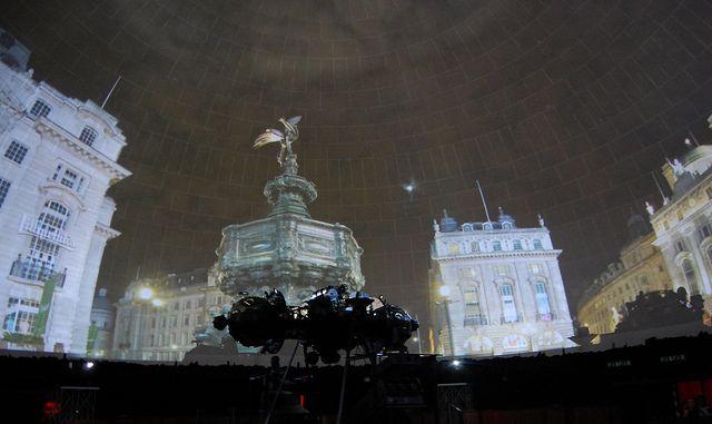 Proiezioni al Planetario di Milano