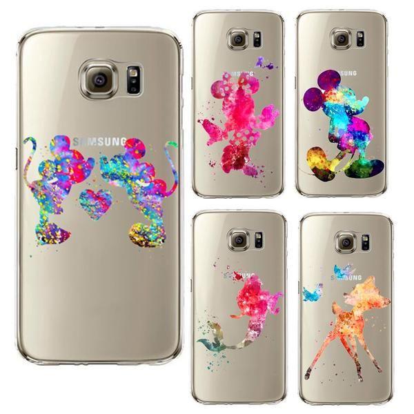 coque galaxy s6 edge silicone disney   Samsung galaxy s6, Dessin ...