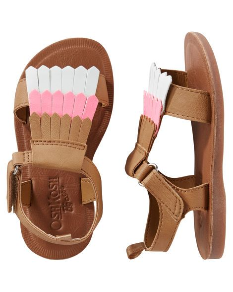 Baby Girl OshKosh Fringe Sandals from OshKosh B'gosh. Shop clothing & accessories from a trusted name in kids, toddlers, and baby clothes.