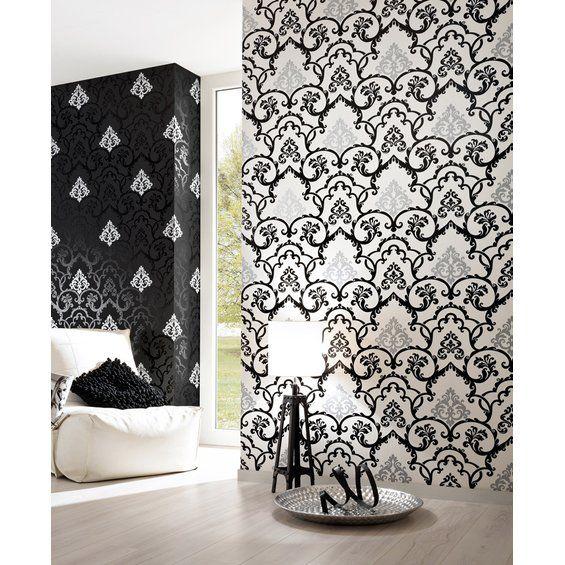ber ideen zu barock tapete auf pinterest retro. Black Bedroom Furniture Sets. Home Design Ideas