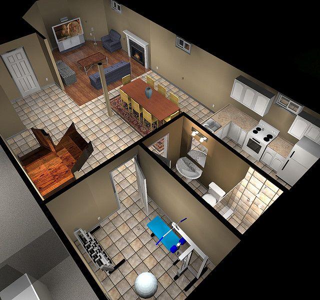 Basement Design Software Creative Entrancing Decorating Inspiration