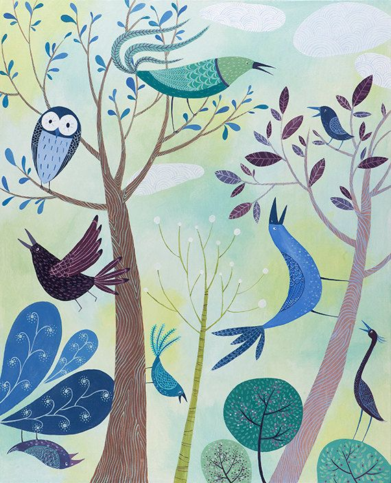 After The Fires. Open edition Giclee print by by TracieGrimwood