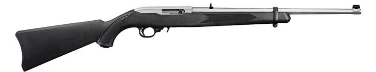 Ruger® 10/22® Carbine Autoloading Rifle Model 1256 (Stainless and Synthetic) | See Walmart, also tech-sights.com and appleseedstore.flyingcart.com/?p=detail=10 (nylon)