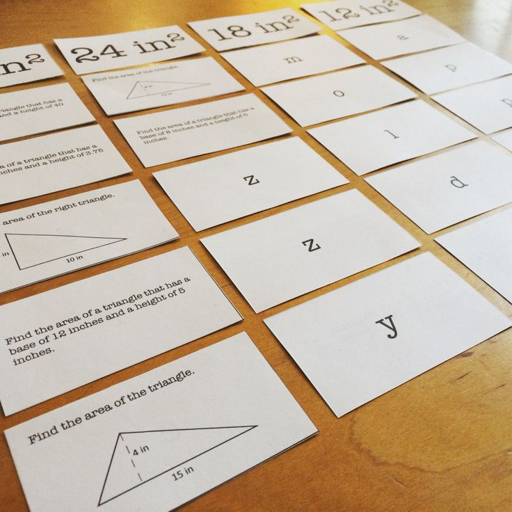 "This activity helps students practice finding the area and perimeter of various shapes. Students answer area and perimeter problems and then sort them based on their answers. Once sorted, they flip over the cards and unscramble the fun words and phrases on the back! Who doesn't want to answer problems when it turns into a ""green, fuzzy, moldy, apple?"" Topics include perimeter, area of rectangles, area of triangles, and area of trapezoids."