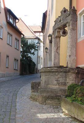 Rothenblog: Das Sülzengäßchen im romantischen Rothenburg