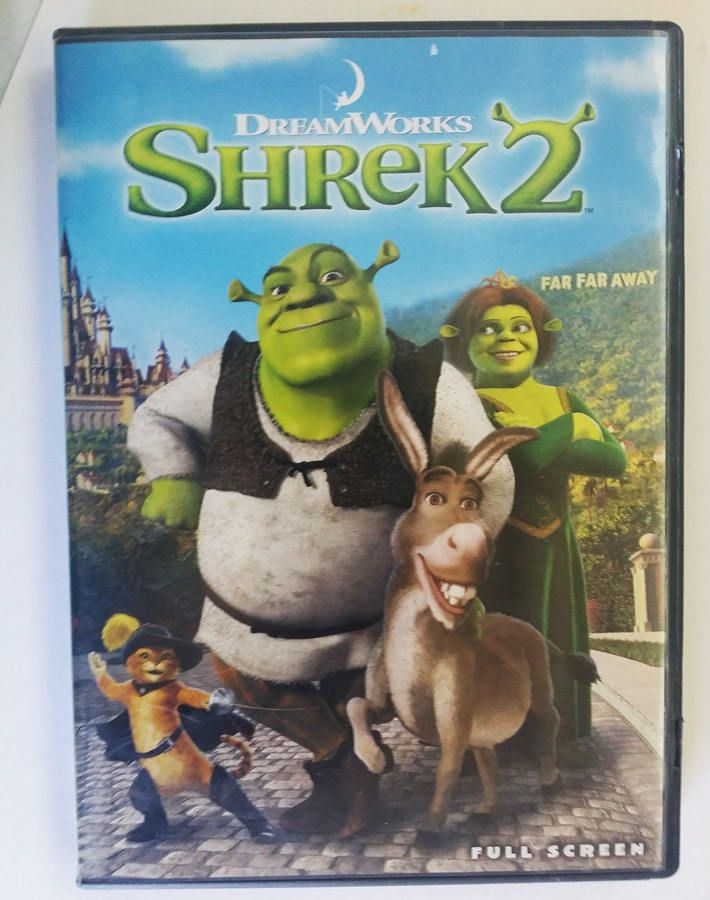 Shrek 2 DVD movie widescreen childrens animation fairy tales family