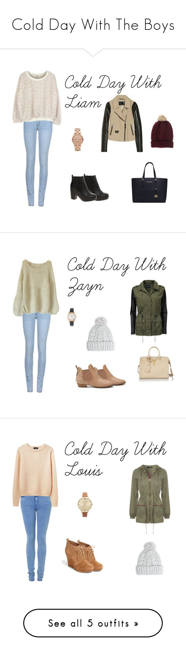 """Cold Day With The Boys"" by one-direction-outfits-of-the-day ❤ liked on Polyvore featuring ASOS, Marc by Marc Jacobs, Mackage, MICHAEL Michael Kors, Modström, MANGO, J.Crew, Witchery, Yves Saint Laurent and A.P.C."