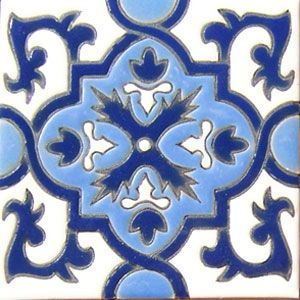 High Relief Mexican Tile