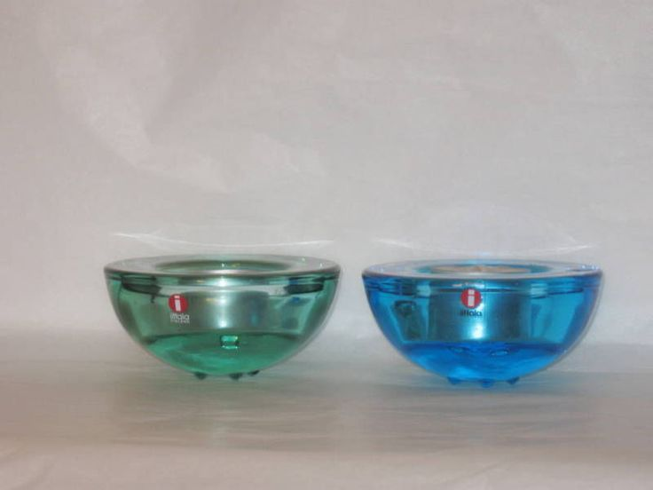 Green Blue Iittala Finland Ballo Hakatie Votive Bowl | eBay