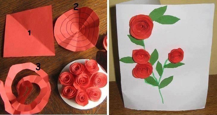 وردات من الورق المقوى Crafts Paper Crafts Paper