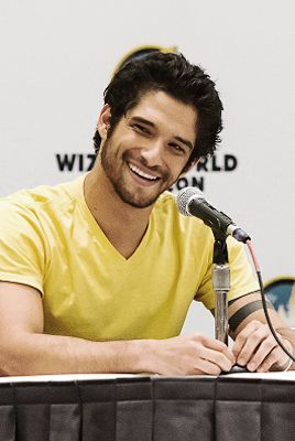 Tyler Posey at Wizard World Comicon at Oregon Convention Center on January 24, 2015 in Portland, Oregon.