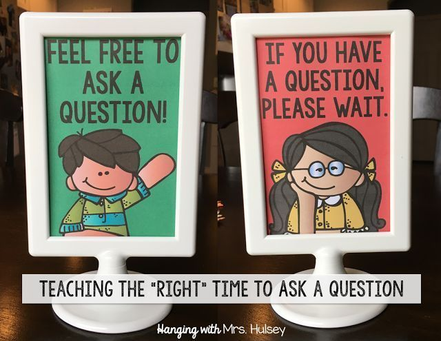 What do you do when students constantly interrupt and ask questions? Do you have a strategy in place? Here is how I'm managing this issue-- plus a freebie to help you get started!