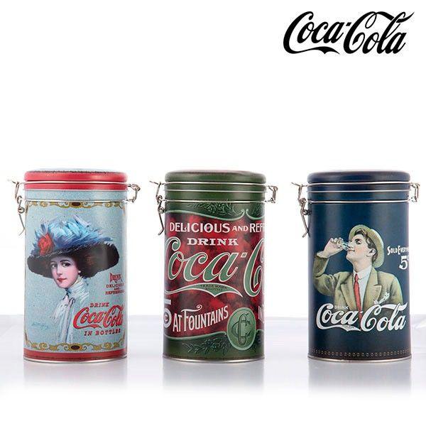 #Vintage #Metalldose #CocaCola #Tee #Kräuter #Aufbewahrung #Retro #Outlet