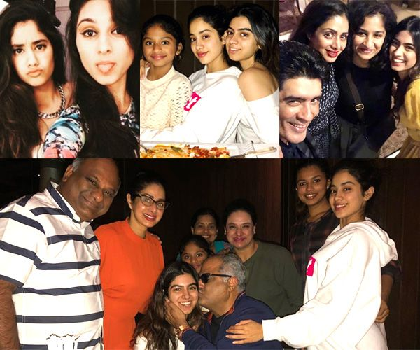 [Inside pics] Jhanvi Kapoor-Khushi Kapoor slay it in style at dad Boney Kapoor's birthday party #FansnStars