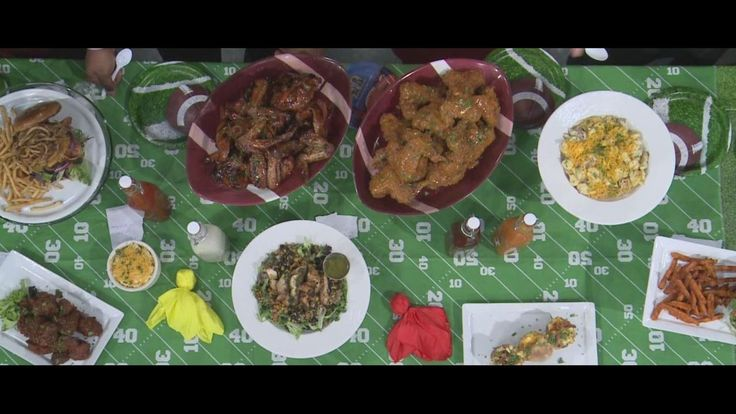 Client The Block (3919 Woodward Ave., Detroit) on WDIV Local 4 News morning #TastyTuesday featuring wings for Super Bowl 50