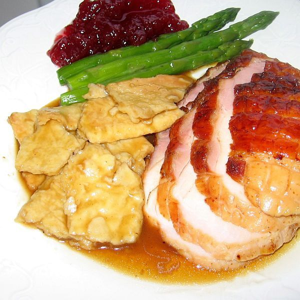 Roast Turkey with Pasta Tatters Recipe - Croatian Purica s Mlincima