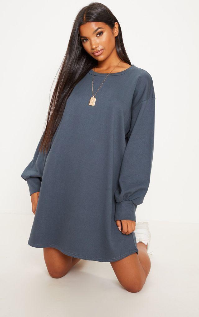 In Charcoal Oversized Sweater DressFashion 2019 Clothing dxBoWrCe