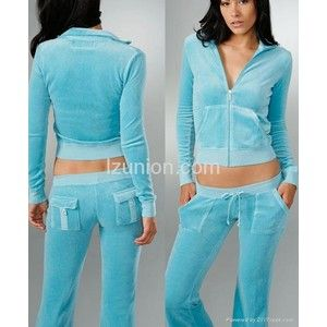 Juicy Couture Sweat Suits | Juicy Couture Plain Velour Tracksuits (China Trading Company) - Suit ...