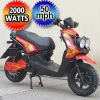 Brand New 2000 Watt Venom Electric Moped Scooter