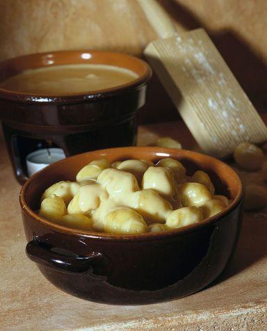 Gnocchi di patate con fonduta