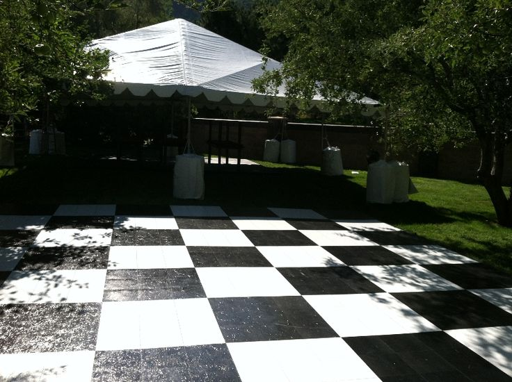 Salt Lake City Party Rentals -All Out Tent and Event. A beautiful dance floor is all you need to complete your reception. Dance until your feet won't have it. Check out more flooring and stage options at eventrentalutah.com or follow our board on Pinterest