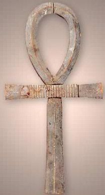 Ahhhhhhhh...the beautiful Ankh...symbol of life, fertility...my favorite. When I first saw it years ago, it seemed oddly familiar...from distant memory.