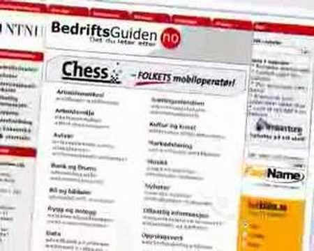 BedriftsGuiden.no YouTube video, HC Andersen.