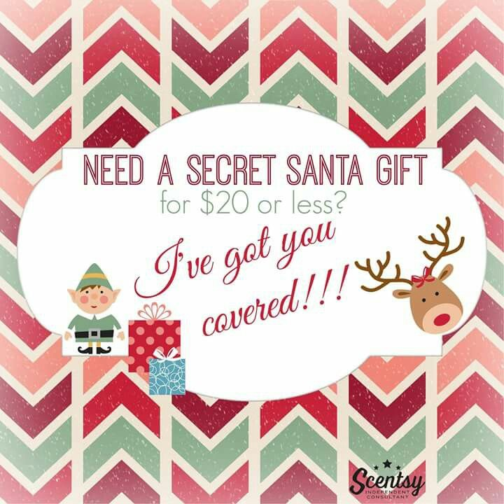 Scentsy holiday flyer