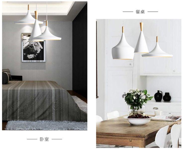 Conception par nouveau Battement de Lampe Pendante Lumière nouveau Blanc en bois instrument Lustre, 3 PCS/PACK de la boutique en ligne | Aliexpress mobile