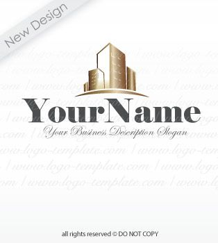 online pre designed real estate construction logo template 1 find logo design - Web Design Company Name Ideas