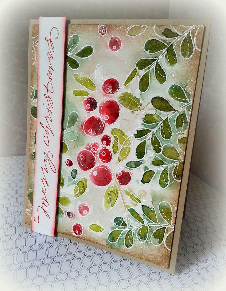 Simon Says Stamp Winter Flowers