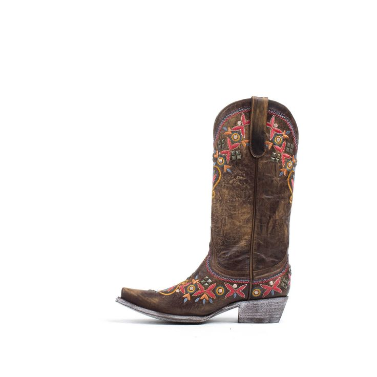 Allens Boots Women's Yippee Ki Yay by Old Gringo Boots Alameda Brass #YL261-1