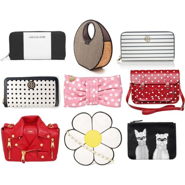 mad bags by Czumaczech on Polyvore featuring polyvore fashion style Nila Anthony Marc by Marc Jacobs Tory Burch Moschino MICHAEL Michael Kors Monki RED Valentino