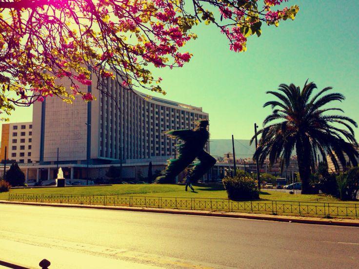 Athens Hilton.
