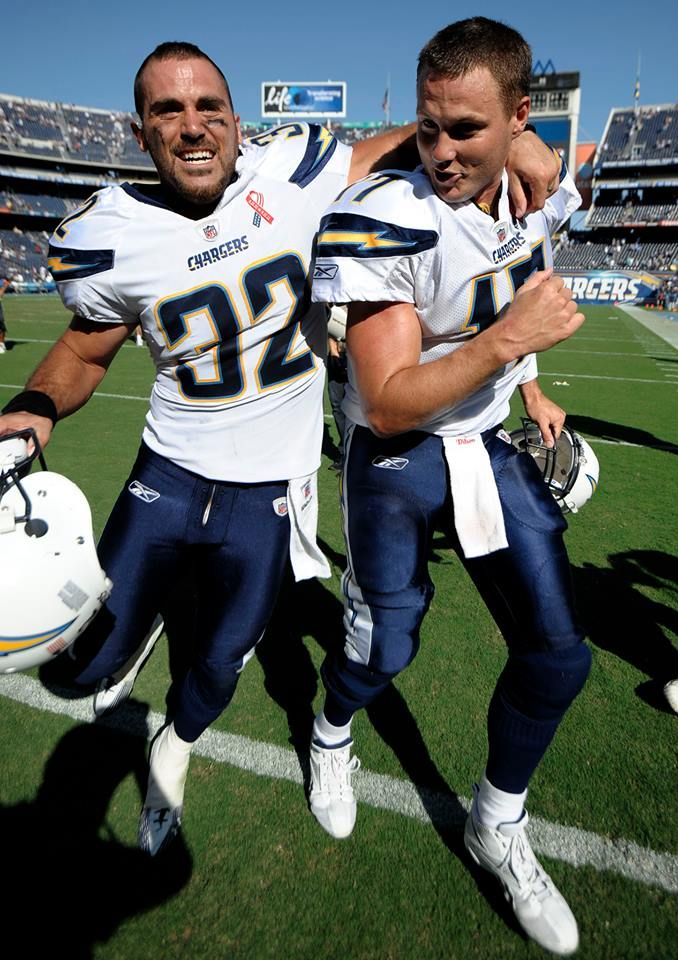 Eric Weddle and Philip Rivers! 2 of my favorite players!